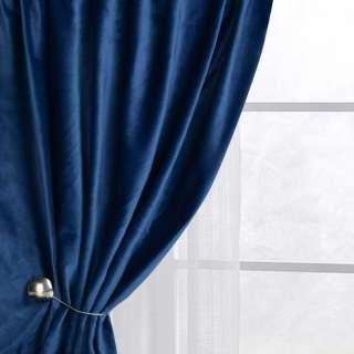 Велюр для штор синій (каталог 75) ш.280 оптом