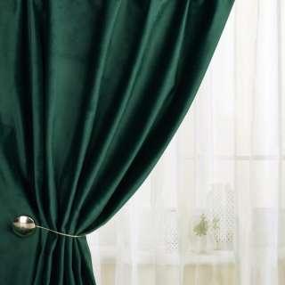 Велюр для штор зелений темний (каталог 75) ш.280 оптом