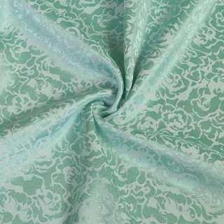 Ткань портьерная салатная ш.140 оптом