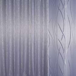 Жаккард портьерный петлевидный бледно фиолетовый волна ш.280