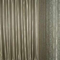 Атлас жаккардовый 2-ст. оливковый в полоску ш.280