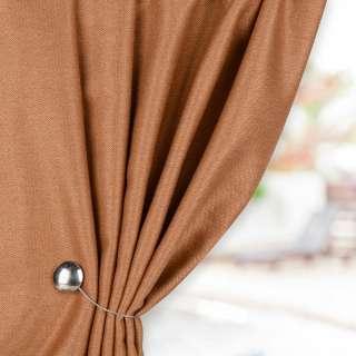 Жаккард для штор твідова ялинка коричневий світлий, ш.280 оптом