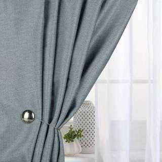 Жаккард для штор твідова ялинка сіро-блакитний, ш.280 оптом