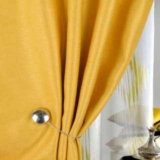 Жаккард для штор діагональний рельєф жовтий, ш.280 оптом