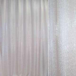 органза порт. біла на тк.осн з троянд. провис, ш.270 оптом