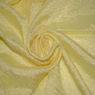 Креш портьерный бледно-желтый ш.280 оптом
