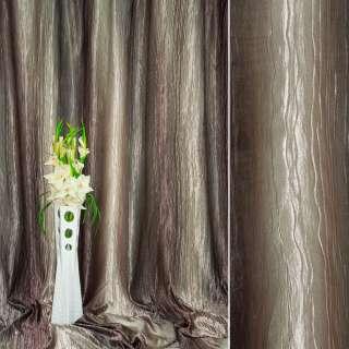 "атлас жатый т/серый+бежев. с розов. от.""радуга"" ш.275 оптом"