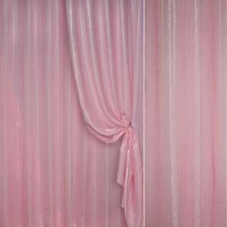 Кристаллон портьерный розовый ш.280 оптом