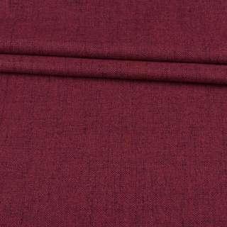 Блэкаут лен бордовый (на акриловой подложке), ш.280 оптом