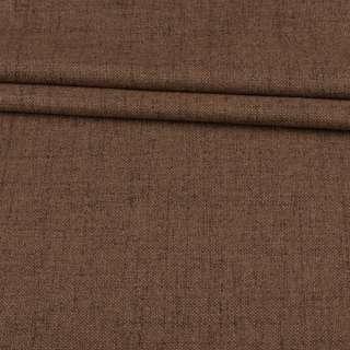 Блэкаут лен бежево-коричневый (на акриловой подложке), ш.280 оптом