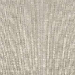Блекаут льон молочно-сірий (на акрилової підкладці), ш.280 оптом