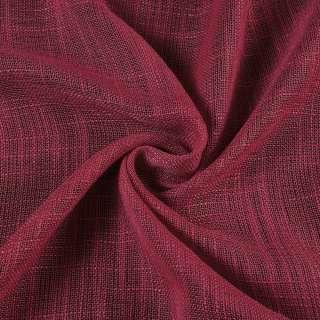 Льон портьєрний бордовий ш.280 оптом