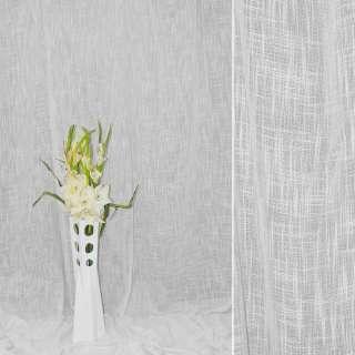 Льон портьєрний білий ш.280 оптом