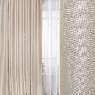 Блекаут лен рогожка  белый песок ш.280 оптом