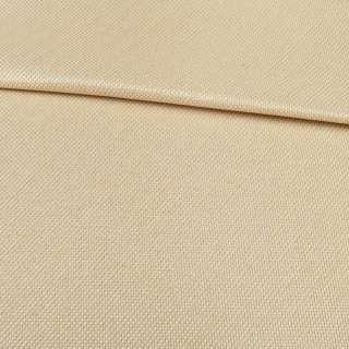 блэкаут лен рогожка бежево-персиковая ш.280 оптом