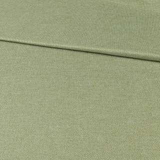 Блекаут лен рогожка зеленая оливковая ш.280 оптом