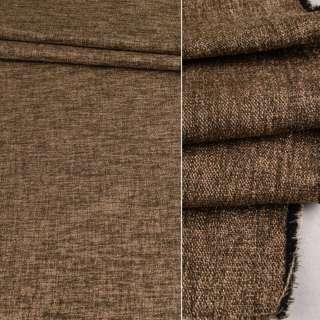 Блэкаут лен коричнево-золотистый ш.280 оптом
