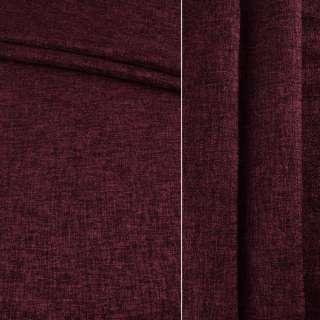Блэкаут лен бордовый ш.280 оптом