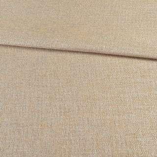 Льон блекаут для штор бежевий пісочний, ш.280 оптом