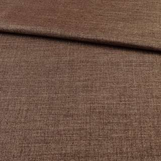 Блэкаут лен коричнево-бежевый ш.280 оптом