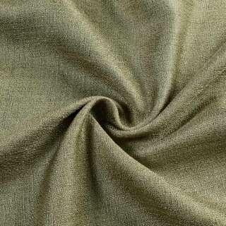 ткань порт. лен глад. темно-оливковый оптом