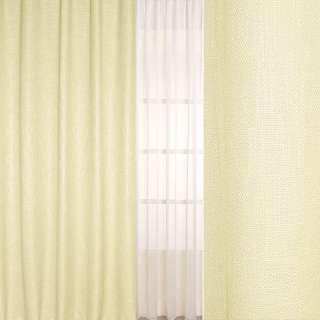 Рогожка-лен кремовая ш.280 оптом
