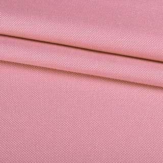 Рогожка дрібна блекаут (софт виворіт) рожева ш.280 оптом