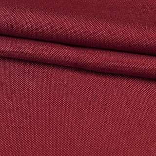 Рогожка мелкая блэкаут (софт изнанка) бордовая ш.280 оптом