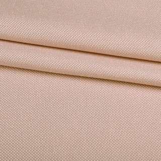 Рогожка дрібна блекаут (софт виворіт) кремова ш.280 оптом