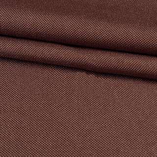 Рогожка дрібна блекаут (софт виворіт) коричнева ш.280 оптом