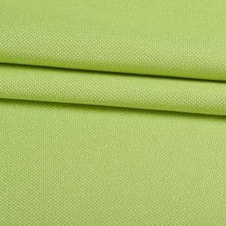 Рогожка дрібна блекаут (софт виворіт) зелена лайм ш.280 оптом