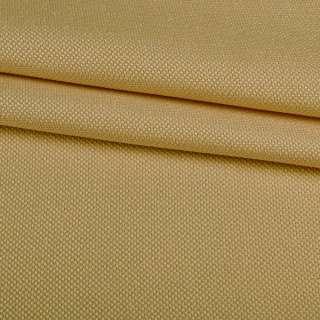 Рогожка дрібна блекаут (софт виворіт) бежева охра ш.275 оптом