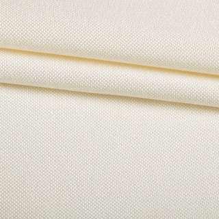 Рогожка дрібна блекаут (софт виворіт) молочна ш.280 оптом