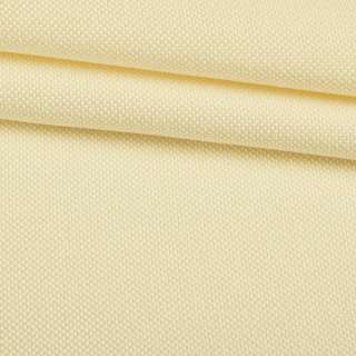 Рогожка дрібна блекаут (софт виворіт) вершкова ш.280 оптом
