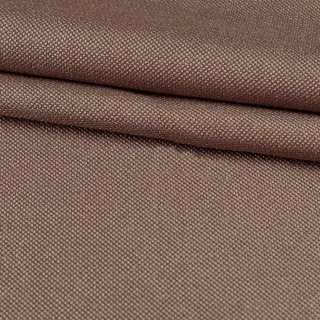 Рогожка дрібна (софт виворіт) коричнева світла ш.280 оптом