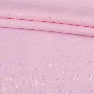 Рогожка дрібна (софт виворіт) рожева світла ш.280 оптом