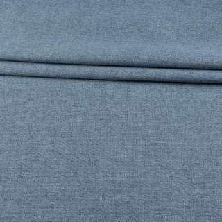 Рогожка блэкаут серо-голубая меланж, ш.280 оптом