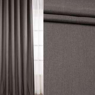 Рогожка для штор твидова сіро-бежева, ш.300 оптом