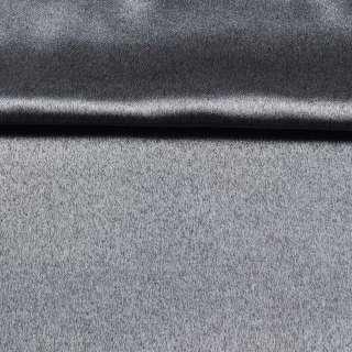 Софт блэкаут меланж с блеском серый (антрацит) ш.280 оптом