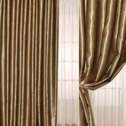 Софт муаровый с блеском коричневый светлый, ш.280 оптом