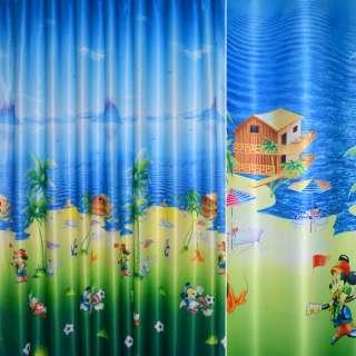 атлас фото голу-зел с Дисней персонажами оптом