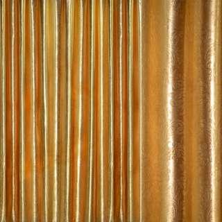 """Блэкаут золото крупный """"испанский дворик"""" ш.280 оптом"""