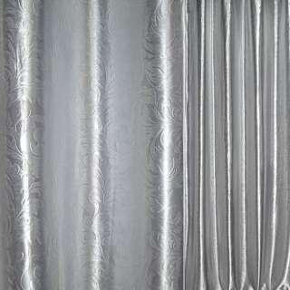 """Блекаут сріблястий великий """"іспанський дворик"""" ш.280 оптом"""