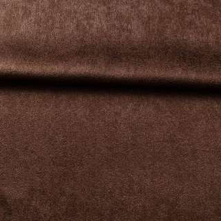 Софт зернистый с блеском коричневый темный ш.280 оптом
