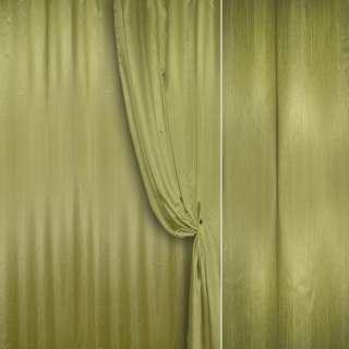 Шелк портьерный искусственный зеленый травяной ш.280 оптом