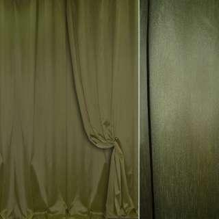 Шелк портьерный искусственный темно-зеленый ш.280 оптом