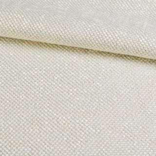 Рогожка шенилловая блэкаут жемчужно-белая ш.280 оптом