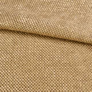Рогожка шеніллова блекаут янтарно-бежева ш.280 оптом