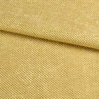 Рогожка шеніллова блекаут золотисто-жовта ш.280 оптом