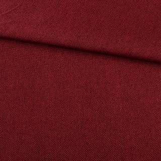Рогожка красная темная дублированная (на войлочной основе), ш.150 оптом
